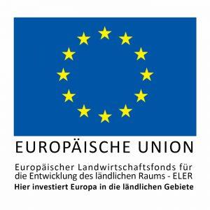 Logo Europäischer Landwirtschaftsfonds für die Entwicklung des ländlichen Raums (ELER)